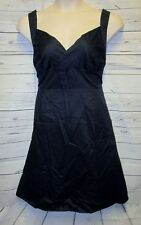 NWT Lane Bryant 20 2x Dress Rockabilly Swing Black Plus Pin Up Fit & flare Surpl