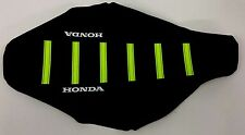 New NEON YELLOW HONDA Ribbed Seat cover CRF250R 2004-2009
