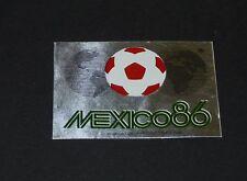 N°2  RECUPERATION PANINI FOOTBALL MEXICO 86 WM COUPE DU MONDE 1986