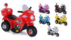 Kinder Elektro Polizei Motorrad Fahrzeug Kindermotorrad Akku Elektromotorrad