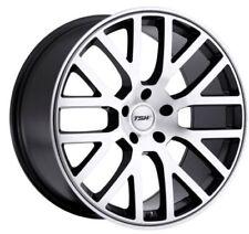 22x9 TSW Donington 5x114.3 Rims +40 Mirror Cut Face Wheels (Set of 4)