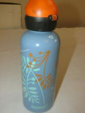 Sigg Water Bottle with Sport Cap * Blue/Design * .6L/20oz * FREE SHIPPING!!