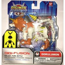 Bandai Digimon Digi Fusion Dorulumon Action Figure Brand New