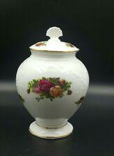 More details for royal albert 'old country roses' lidded vase-seconds-excellent