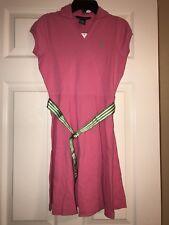 Nwt Ralph Lauren Girls Pink w/Belt Dress Sz. L 12/14