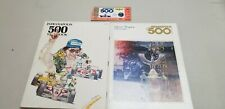 1983 Carl Hungness Indianapolis 500 Yearbook, Official Program, TIcket Stub