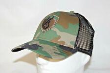 Browning Buckmark Logo Stealth Baseball Cap Snapback Hat in Camo OSFA