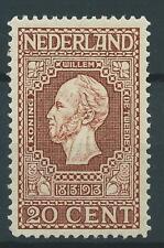 1913TG Nederland Jubileumzegel  NR.95 Postfris zie foto's mooi zegel.