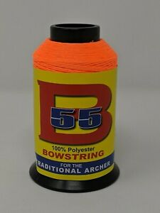 BCY B55 Bowstring, 1/4# Spool, Choose From 33 Different Colors