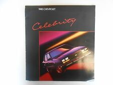 1985 Chevy Celebrity Product Brochure