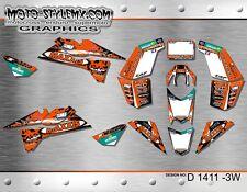 KTM SX & XC 450 505 525 QUAD ATV graphics decals kit Moto StyleMX