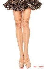 SEXY calze Collant Nudo Lycra Rete ELEGANTI intimo Lingerie Fashion GLAMOUR !