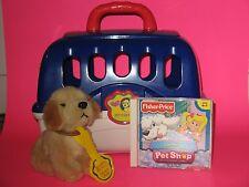 Imagination(2000) Pet Care Center 30 Pcs. Playset Puppy Carry Case + Pet Shop CD