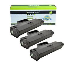 3PK MLT-D101S MLT-D101L Toner Cartridge For Samsung ML-2165W SCX-3400 SCX-3405W