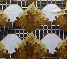 Vintage 1960's 70's Cotton Interiors Fabric 'Moonglow' a Bevis Screen Print