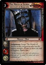 LoTR TCG BR Black Rider The Mouth Of Sauron, Lt. Of Barad-Dur FOIL 12RF11