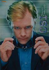 CSI MIAMI - A3 Poster (ca. 42 x 28 cm) - David Caruso Clippings Fan Sammlung NEU