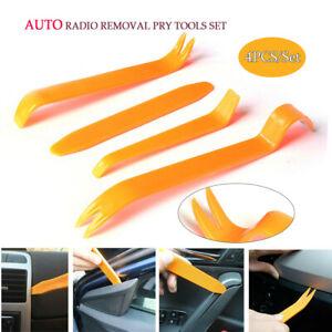 4PCS Pry Tool Kit Car Radio Door Body Clip Panel Trim Dash Audio Plastic Removal