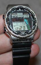 VINTAGE CITIZEN WINDSURFING WATCH D120 312554 GN-4-S RUNNING