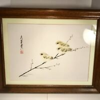 China Frank T. Gee Limited Edition Print of Baby Yellow Birds Signed / Numbered