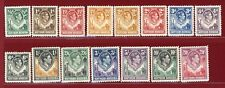 Northern Rhodesia 1938-52 #25-45(15), Giraffe,Elephant, Mint, H, OG, SCV $161.30