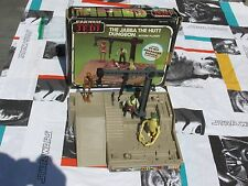 1984 Vintage Star Wars JABBA THE HUT PLAYSET 2nd Version EV-9d9 Barada Amanaman