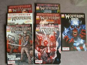 WOLVERINE VECCHIO LOGAN - SERIE COMPLETA da 231 a 237 - Panini Comics