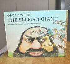 Vintage 1970's Oscar Wilde The Selfish Giant Hardcover Picture Story Book 1978