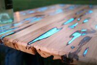 CYW500L 25g BLAU WASSEFEST Pigment Epoxid Harz Farbe Nachtleuchtfarbe Tisch UV