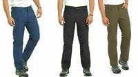 Eddie Bauer Men's Trek Pant Water Repellent Secure Pockets 2-Way Stretch NEW