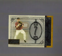 2005 Playoff Prime Cuts /499 Craig Biggio #37 HOF Houston Astros Insert Card