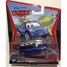DISNEY CARS BECKY WHEELIN #33 CHASE W6689 *NEW*