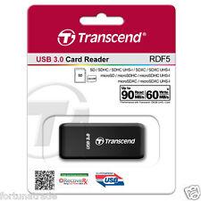 TRANSCEND TS-RDF5K USB 3.0 Kartenleser micro SD/ SDHC/ SDXC Cardreader