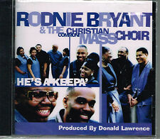 Ronnie D. Bryant - He's a Keepa' [New CD]