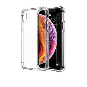For iPhone xs , xs Max Case Clear Shockproof Cover bumper Transparent protective