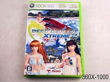 Dead or Alive Xtreme 2 Xbox 360 Japanese Import Xbox360 Japan JP US Seller B