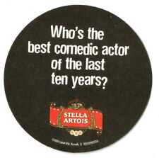12 Stella Artois Sundance Film Fest Best Comedic Actor  Beer Coasters