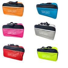 Borsone  da palestra borsa sport x  con chiusura zip unisex 55x21x31 cm
