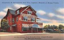 Norwalk Connecticut Charpentier Street View Antique Postcard K43885
