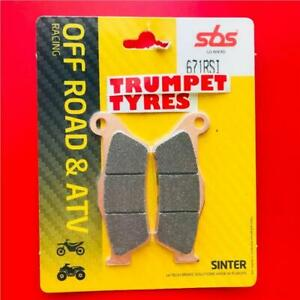 BMW G 450 X 08 > 10 Front Off Road Race Sinter Brake Pads EO QUALITY 671RSI