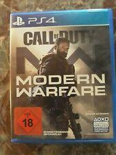 PS4 Spiel CALL OF DUTY MODERN WARFARE Inernetverbindung erforderlich