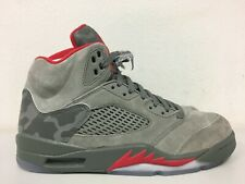 4275572bca0595 Nike Air Jordan 5 Retro Reflective Camo Dark Stucco 136027 051 Size 13