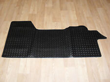 Fiat Ducato 2006-on Fully Tailored RUBBER Car Mat Black.