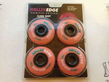 4-Pack RollerEdge Sling Shot Inline Skate Wheels Purple 77mm 78a Made in USA