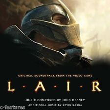LAIR John Debney SCORE Ltd Edition 2-CD La-La Land VIDEO GAME Soundtrack SEALED!