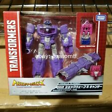 Takara Transformers Legends LG24 Shockwave & Cancer Headmasters *H4