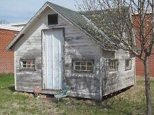Tiny House Nebraska Farmhouse Replica Hand Made One of Kind Playhouse NOT PreFab