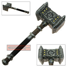 World War Craft FOAM Doom Hammer Cosplay Latex Replica Costume Prop Life Size