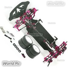 1/10 Alloy & Carbon SAKURA XIS RC Racing Car Frame Body Kit