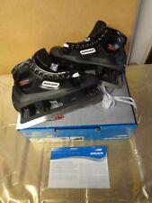 Bauer Reactor 1000 Goal Ice Hockey Skates Sz 7D / Shoe Size 8.5 Width D